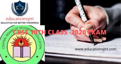 CBSE 10TH CLASS -2020 EXAM (1)