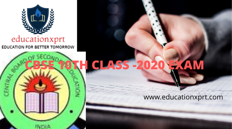 CBSE 10TH CLASS -2020 EXAM (1)