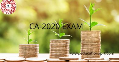 CA Exam 2020